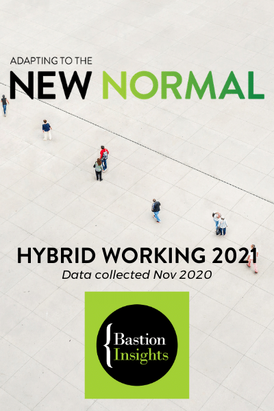 Research study of hybrid working 2021